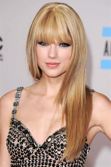 pictures of taylor swift with straight hair and bangs and bob taylor swift taylor swift pinterest taylor swift