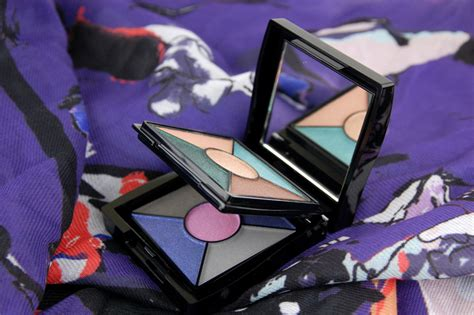 Mk Shadow Mk Cosmetics Eyeshadow Palette E8266 midnight jewels eye color palette in sapphire noir and emerald noir review swatch and