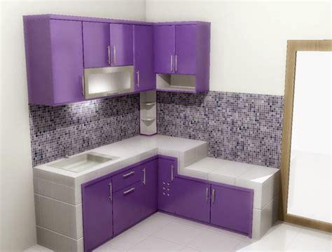 desain warna dapur 40 inspirasi desain dapur minimalis warna ungu yang indah