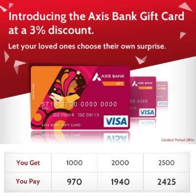 Axis Bank Gift Card Login - axis bank gift cards 3 cashback on rs 1000 paytm