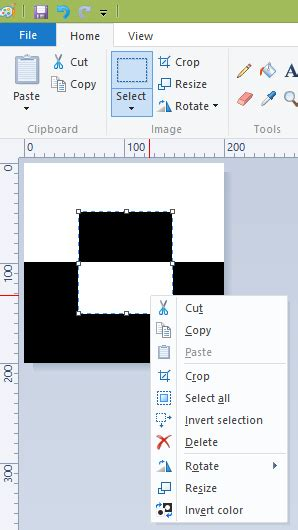 invert color how to invert colors in paint in windows 7 and windows 8
