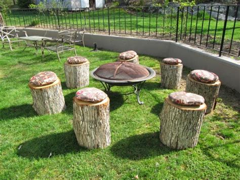 build pit around tree stump 11 pit seatings comprising of tree stumps and rock boulders outdoor pits fireplaces