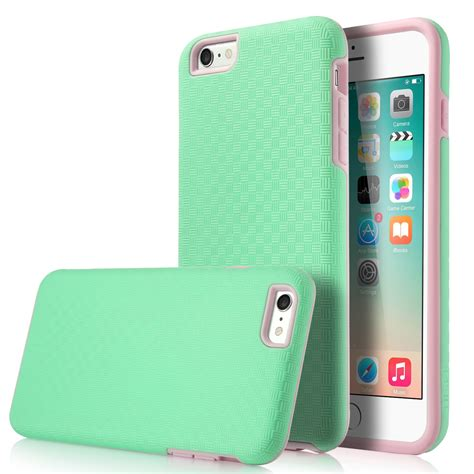 Casing Iphone 6 Armored Satin Premium shockproof hybrid rubber pc dual layer cover for iphone 6 6s plus ebay