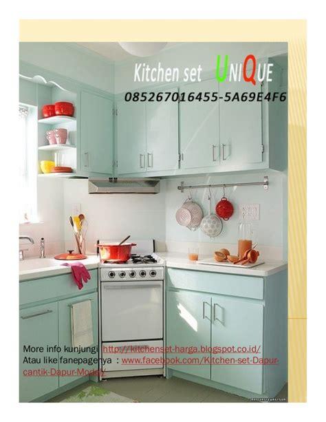 Kitchen Set Atas contoh kitchen set dapur mungil harga kitchen set atas
