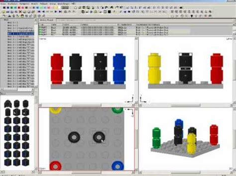 lego mlcad tutorial mlcad 3d lego tutorial 1 2 youtube
