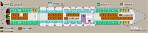 aida kabinen deck 4 aktueller deckplan der aidabella