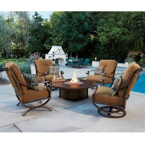 ow outdoor furniture ow lounge chair pit set ow set2