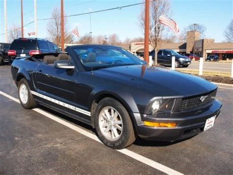 2008 ford mustang v6 specs 2008 ford mustang v6 deluxe convertible data info and