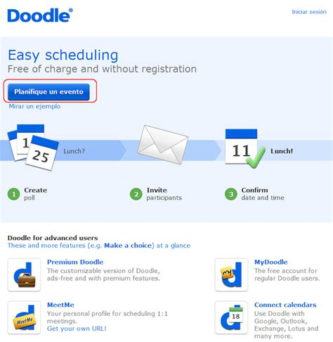 doodle encuestas organizar eventos con doodle adictosaltrabajo