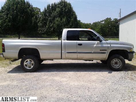armslist for sale 2001 dodge 3 4 ton 4x4