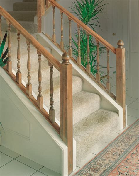 Hardwood Stair Parts Custom Iron Stair Balusters Traditional Staircase By