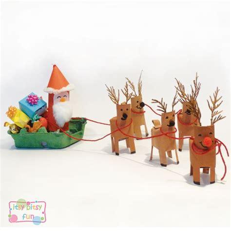 santa on the sleigh kids crafts santa sleigh craft crafts santa