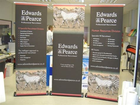 exhibition banners pop up display systems roller banners
