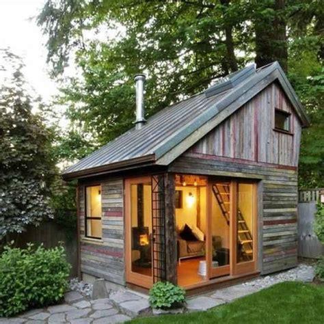 yard guest house prefab backyard cottage saltbox