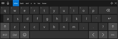 keyboard layout in windows 10 change layout of touch keyboard in windows 10 windows 10