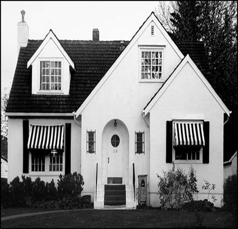 Black And White Awning by Of Design I Wish I Were Brave