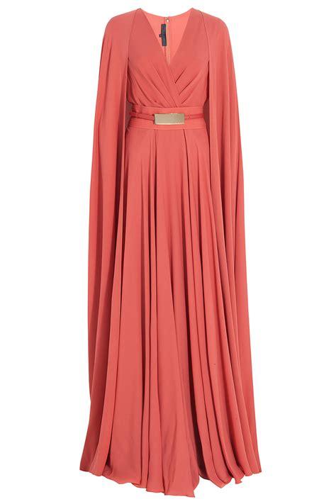 Model Baju Levis Jumpsuit elie saab cap detail gown in lyst