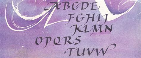 Calligraphy writing services