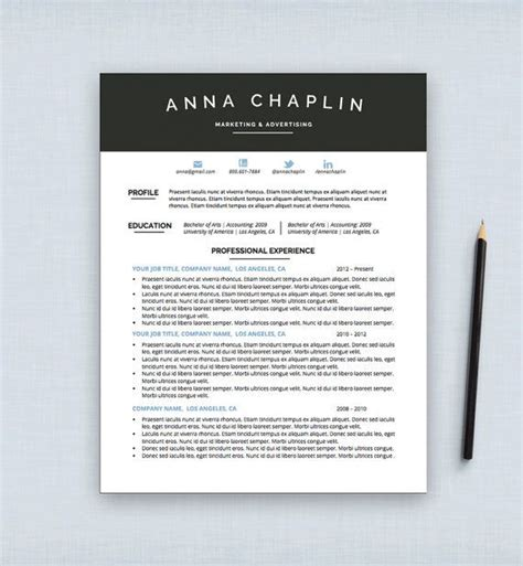 graphic design resume templates for mac 15 best resume formats images on cover letter template curriculum and cv resume