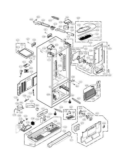 kenmore elite refrigerator parts diagram parts diagram parts list for model 79571033010