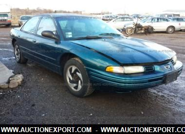 car manuals free online 1996 eagle vision interior lighting 1996 eagle vision esi sedan 4 door used car for sale auctionexport