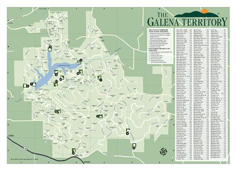 lake galena boat rental maps