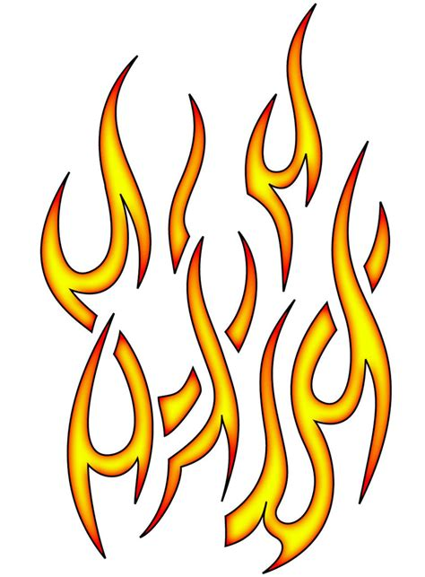 flame designs tattoos images designs
