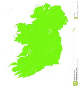 Ie Map Area Outline by Green Outline Map Of Ireland Stock Photos Image 8410843