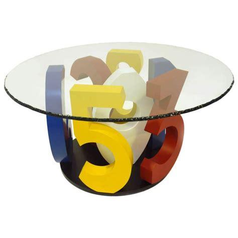 Designer Dining Room Table Sculpture Designer Ugo Nespolo Limited Edition