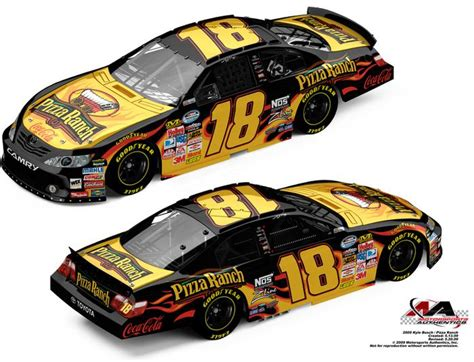 kyle busch pizza ranch ma arc lionel garage