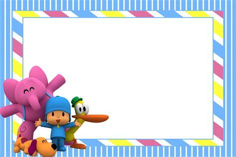 imagenes para cumpleaños de pocoyo pocoyo montando minha festa