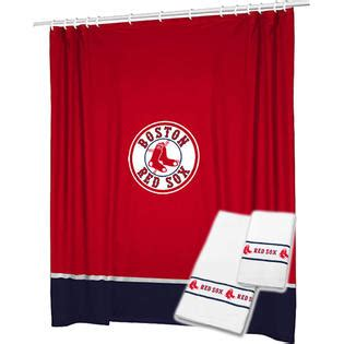 Sox Bathroom Accessories by Mlb 3pc Mlb Boston Sox Shower Curtain And Bath Towels