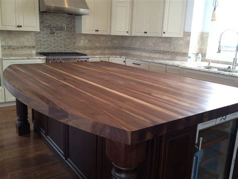 Sealing A Wood Countertop by How To Seal Butcher Block Island Top