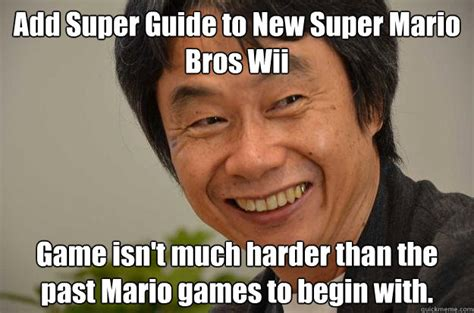 Add Meme Face To Photo - add super guide to new super mario bros wii game isn t