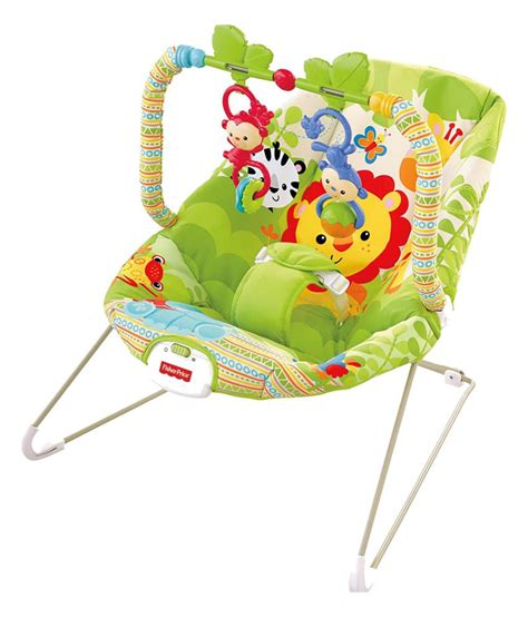 fisher price green rainforest friends bouncer buy fisher
