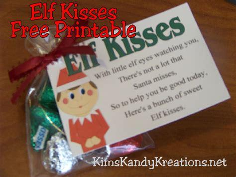 printable elf kisses free elf shoe printable search results calendar 2015