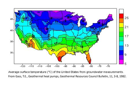 map of usa with weather temperatures temperature maps dedman college smu