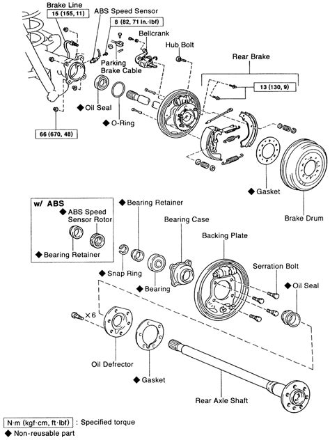 | Repair Guides | Rear Drive Axle | Axle Shaft, Bearing