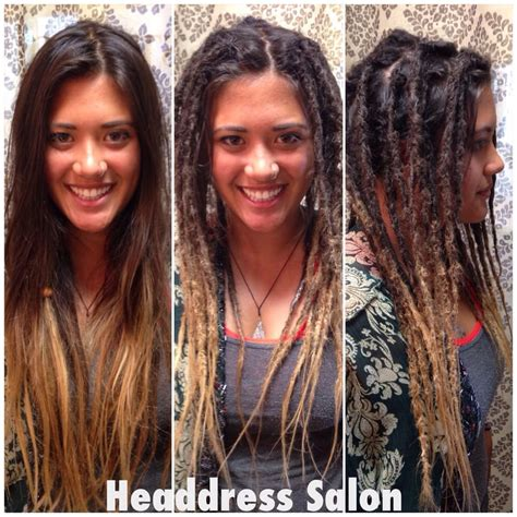 dread extensions short hair before after dreadlocks extensions before and after www imgkid com