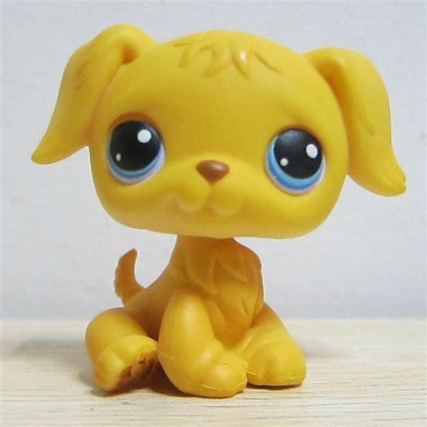 lps golden retriever ebay littlest pet shop golden retriever yellow puppy lps toys no 21 ebay