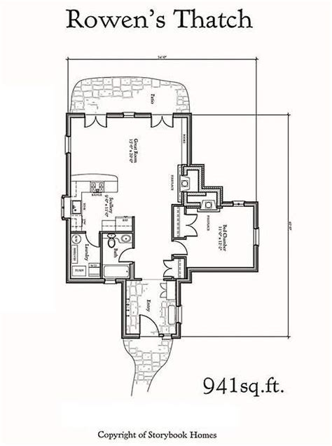 storybook cottages floor plans storybook home plans world styling for modern lifestyles