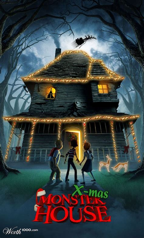 monsters house x mas monster house worth1000 contests