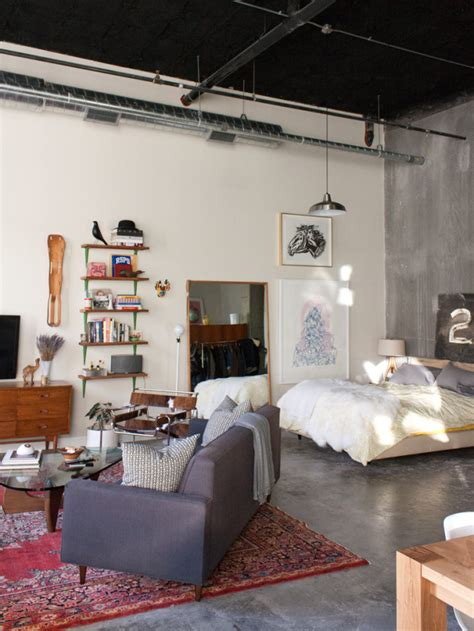 design sponge an eclectic apartment in seattle fit for a quirky