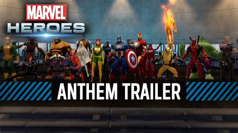 marvel trailer marvel heroes anthem trailer