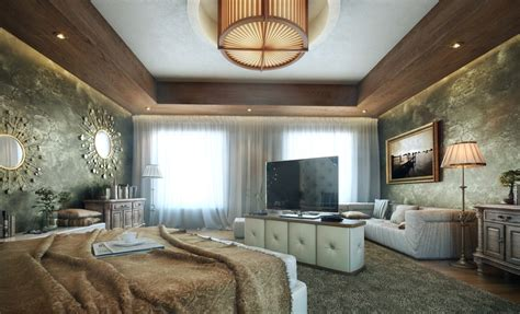 Bedroom Feature Walls Luxury Bedroom Design Ideas