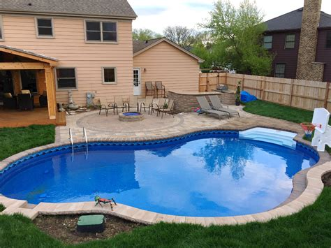 Cost Of Backyard Pool How Much Does A Chicagoland Pool Deck Cost Archadeck Outdoor Living