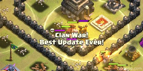 protect war loot in your clan castle clash of clans clash of clans update history coc land