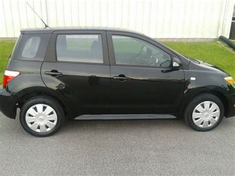 2006 Toyota Scion Purchase Used 2006 Toyota Scion Xa Black W Black