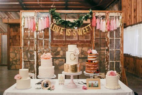 Rustic Shabby Chic Home Decor by Sugar Bee Sweets Bakery Dallas Fort Worth Wedding Cake