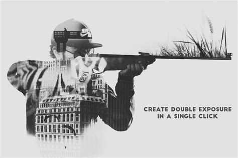 tutorial membuat double exposure photoshop cs3 double exposure photoshop action pro designmont deals